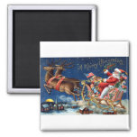 1906 Merry Christmas Magnet