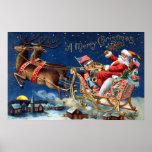 1906 Merry Christmas Print