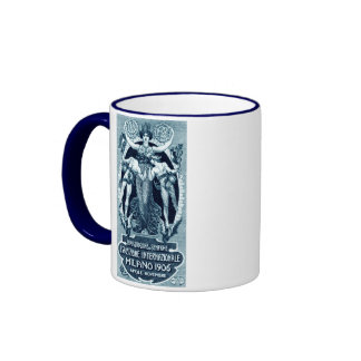1906 Milan International Expo Ringer Coffee Mug