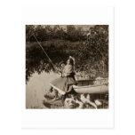 1906 una tarjeta leve de Stereoview del vintage de Tarjeta Postal