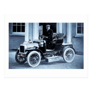 1907 Automobile - Vintage Postcard