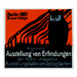 1907 Berlin Exhibition Poster