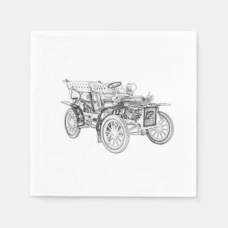 1907 Cadillac Model M Paper Napkin