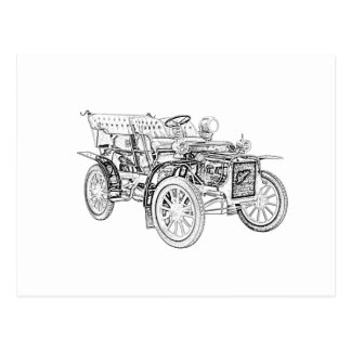 1907 Cadillac Model M Postcard