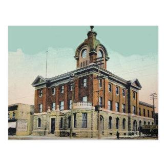1907 Post Office Sault Ste Marie, Ont. Postcard