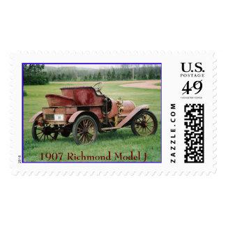 1907 Richmond Model J Postage