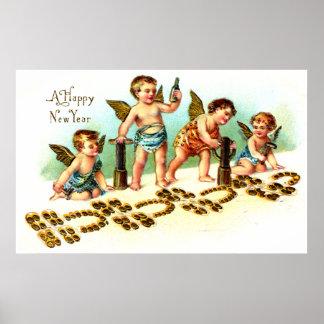 1908 Años Nuevos de suerte Poster