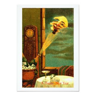 "1908 Champagne New Year 5"" X 7"" Invitation Card"