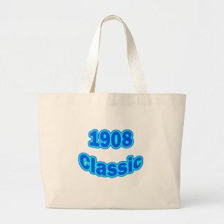 1908 Classic Blue Jumbo Tote Bag