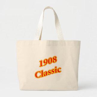 1908 Classic Red Jumbo Tote Bag