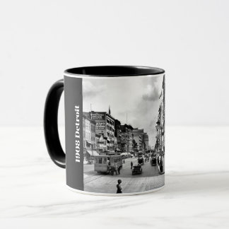1908 Detroit Woodward at Clifford Mug