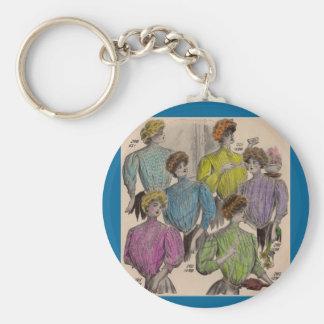 1908 Gimbels ladies blouses waists no. 1 Keychain