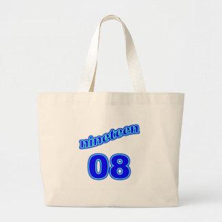 1908 Nineteen 08 Jumbo Tote Bag