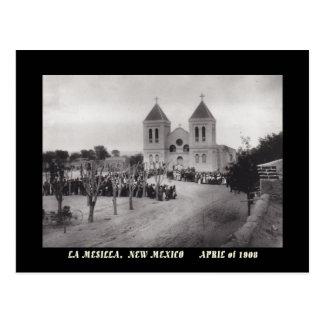 1908 OPINIÓN DE LA PLAZA, LA MESILLA, POSTAL DE NE