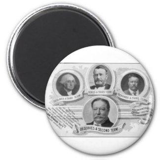 1908 Taft2 2 Inch Round Magnet