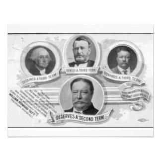 1908 Taft2 Invitacion Personalizada