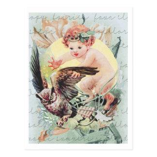 1909! BABY FAUN FAIRYLAND FANTASY POST CARD