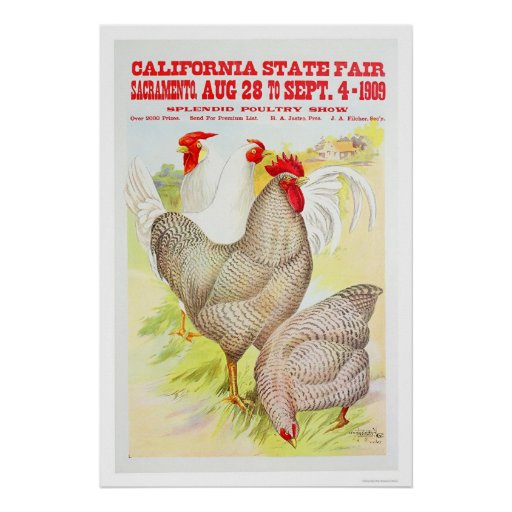 1909 California State Fair Poster