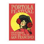 1909 San Francisco Portola Festival Canvas Prints