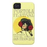 1909 San Francisco Portola Festival iPhone 4 Case