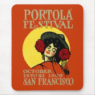 1909 San Francisco Portola Festival Mousepads