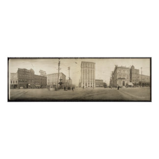 1909 View of Montgomery, AL Yard Long Photograph Posters
