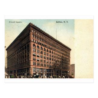 1909 Vintage Ellicott Square Buffalo NY Postcard