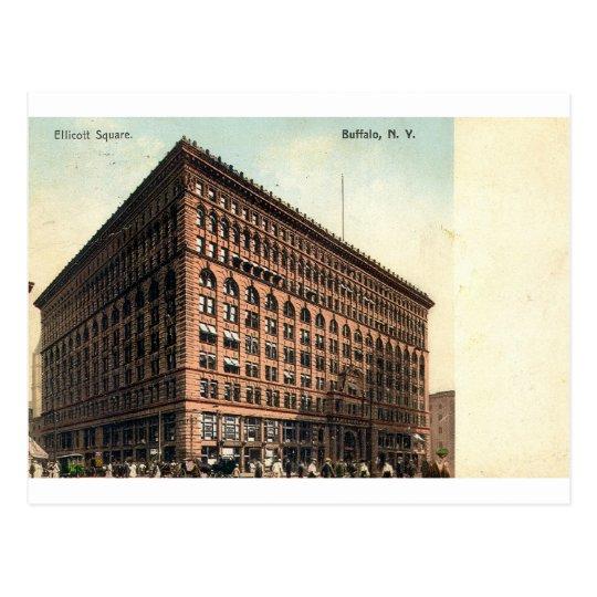 1909 Vintage Ellicott Square, Buffalo, NY Postcard