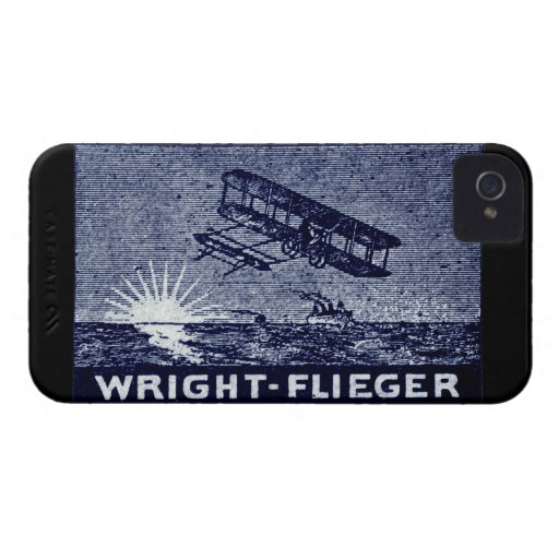 1909 Wright Brothers Aircraft Case-Mate iPhone 4 Case