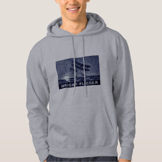 1909 Wright Brothers Aircraft Hoodie