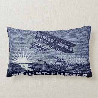 1909 Wright Brothers Aircraft Pillow
