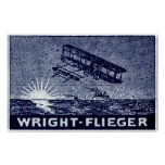 1909 Wright Brothers Aircraft Print