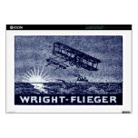 """1909 Wright Brothers Aircraft Skin For 17"""" Laptop"""