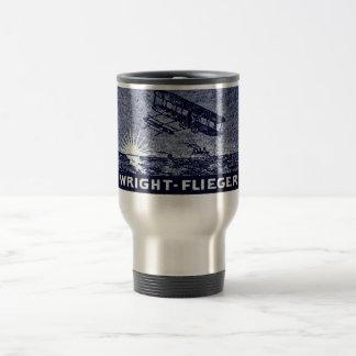 1909 Wright Brothers Aircraft Travel Mug