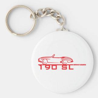 190SL Red Keychain