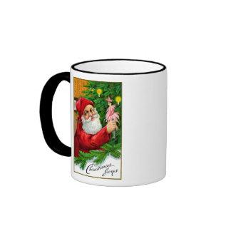 1910 alegrías del navidad taza de café
