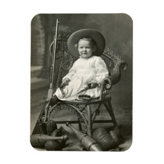 1910 American Tomboy Rectangular Photo Magnet