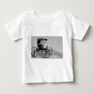 1910 Auto Seat Buggy Baby T-Shirt