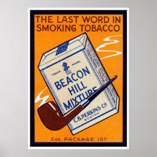 1910 Beacon Hill Pipe Tobacco Print