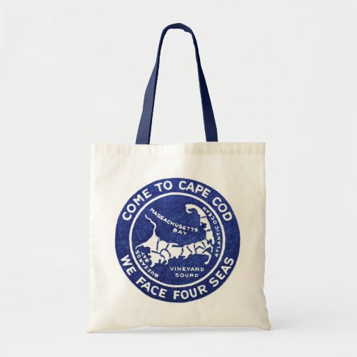 1910 Cape Cod Budget Tote Bag