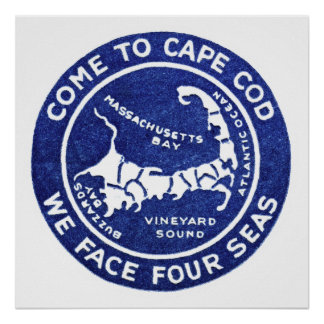 1910 Cape Cod Poster