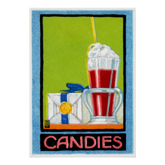 1910 caramelos posters
