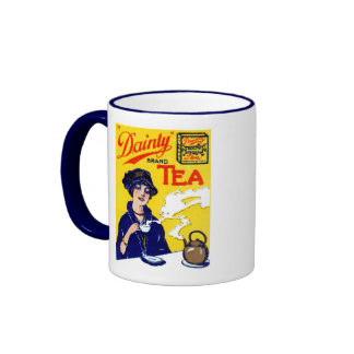 1910 Dainty Tea Mugs