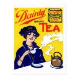 1910 Dainty Tea Postcard