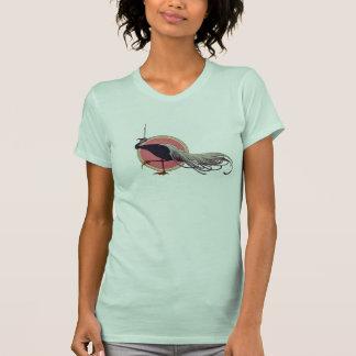 1910 Decorative Art Nouveau Bird Jersey T-Shirt