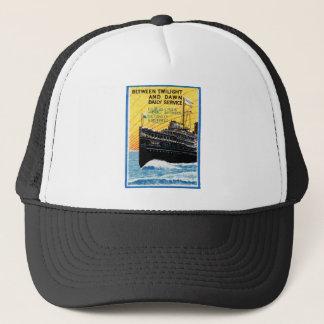 1910 Detroit to Buffalo Steamship Trucker Hat