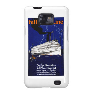 1910 Fall River Steamship Line Samsung Galaxy S2 Cases