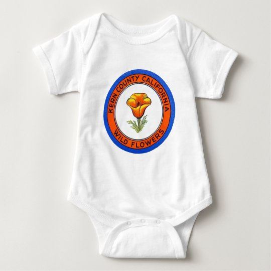 1910 Kern County California Baby Bodysuit