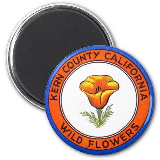 1910 Kern County California Refrigerator Magnets
