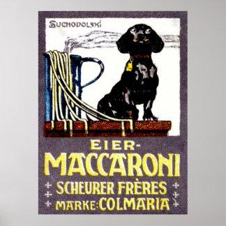 1910 Maccaroni Poster